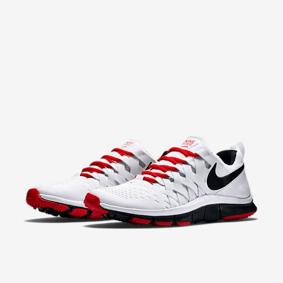 hot sales c758c 39bc1 Nike Free Trainer 5.0 Colorway Red - White - Black